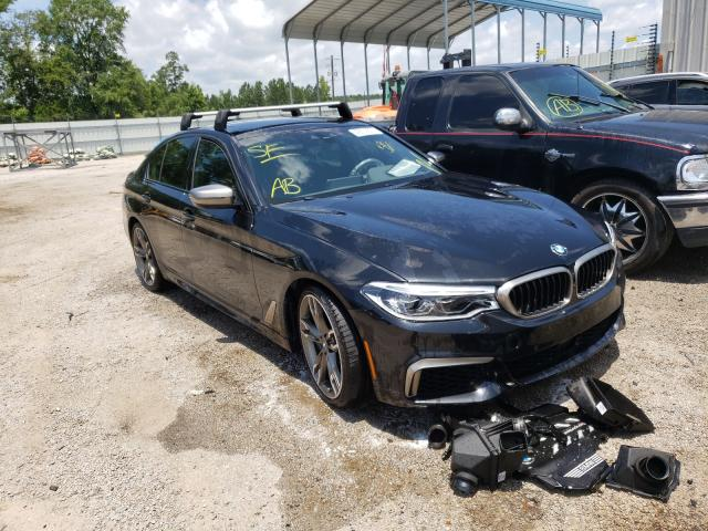 BMW M550XI salvage cars for sale: 2020 BMW M550XI