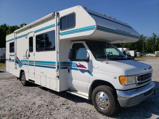 Salvage cars for sale from Copart Spartanburg, SC: 1998 Ford Econoline