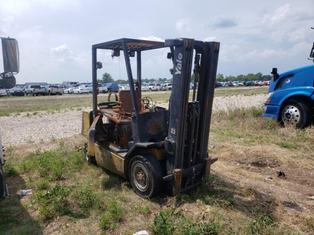 Salvage 2001 YALE FORKLIFT - Small image. Lot 49283251