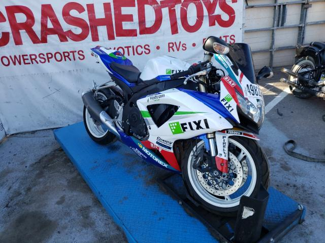 Salvage cars for sale from Copart Anthony, TX: 2008 Suzuki GSX-R600