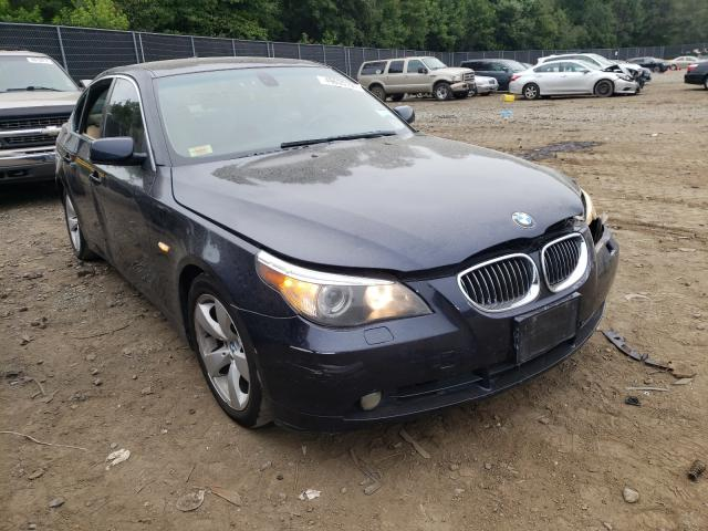 Salvage cars for sale from Copart Waldorf, MD: 2007 BMW 530 I