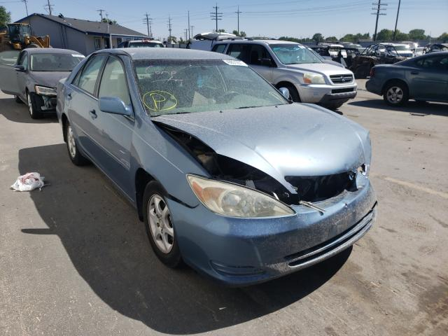 Salvage cars for sale at Nampa, ID auction: 2002 Toyota Camry LE