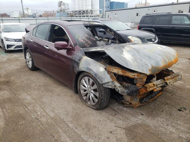 Burn Engine Cars for sale at auction: 2013 Honda Accord EX
