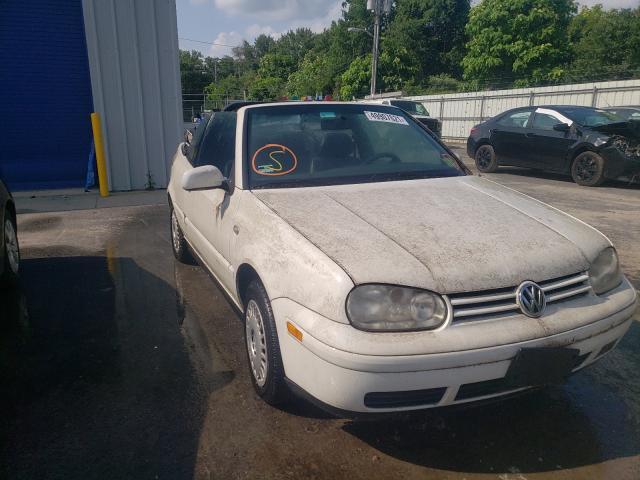 Vehiculos salvage en venta de Copart Glassboro, NJ: 2001 Volkswagen Cabrio GLS