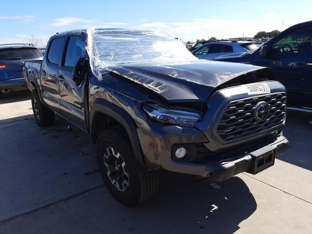 Toyota salvage cars for sale: 2021 Toyota Tacoma DOU