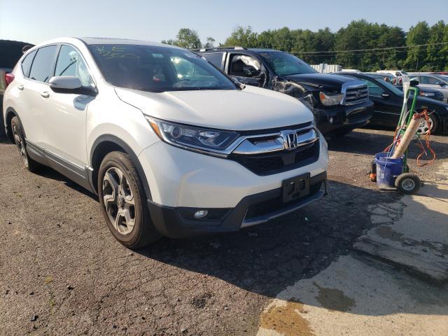 Vehiculos salvage en venta de Copart Fredericksburg, VA: 2018 Honda CR-V EXL