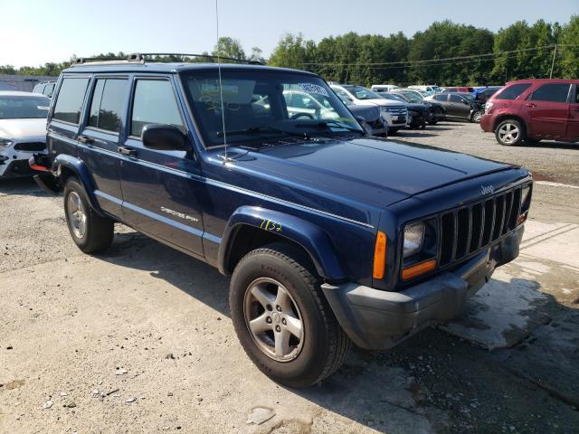 Jeep Cherokee salvage cars for sale: 2000 Jeep Cherokee
