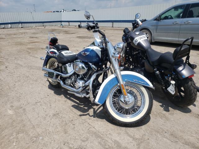 Salvage cars for sale from Copart Lebanon, TN: 2005 Harley-Davidson Flstni