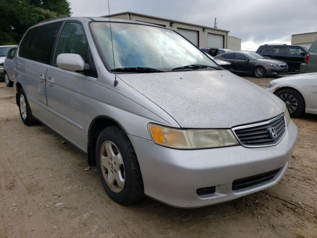 Salvage cars for sale from Copart Gainesville, GA: 2001 Honda Odyssey EX