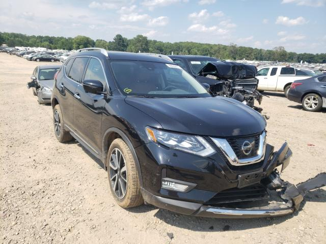 Salvage cars for sale at Conway, AR auction: 2017 Nissan Rogue S
