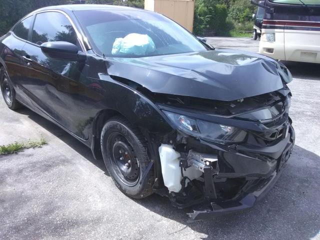 Salvage cars for sale from Copart Ontario Auction, ON: 2020 Honda Civic LX