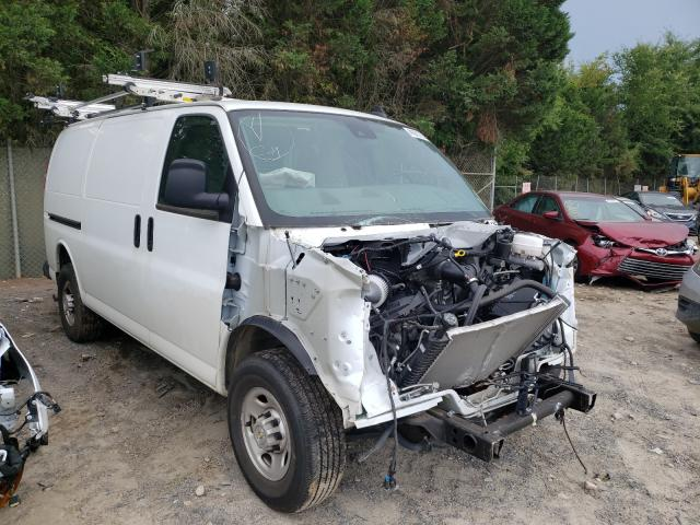 Salvage trucks for sale at China Grove, NC auction: 2020 Chevrolet Express G2