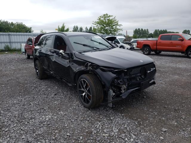 Salvage cars for sale from Copart Ontario Auction, ON: 2021 Mercedes-Benz GLC 300 4M