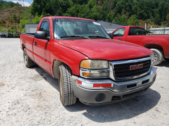 Salvage cars for sale from Copart Hurricane, WV: 2005 GMC New Sierra