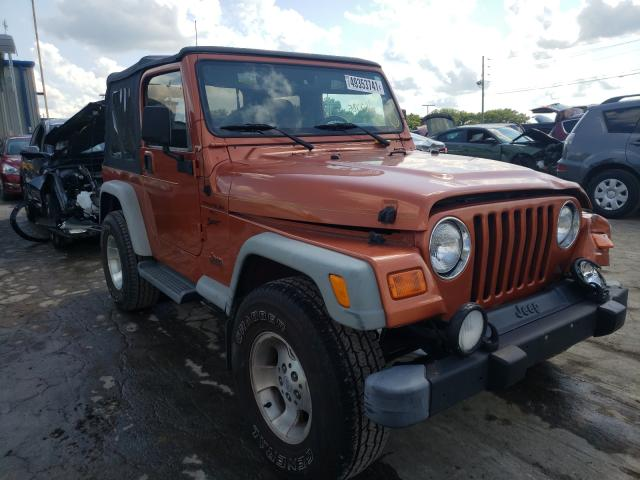 Jeep Wrangler salvage cars for sale: 2001 Jeep Wrangler
