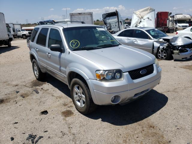 Salvage cars for sale from Copart Tucson, AZ: 2006 Ford Escape HEV