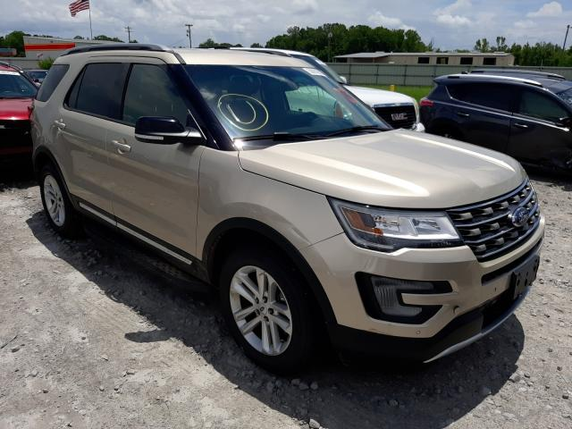 Salvage cars for sale from Copart Montgomery, AL: 2017 Ford Explorer X