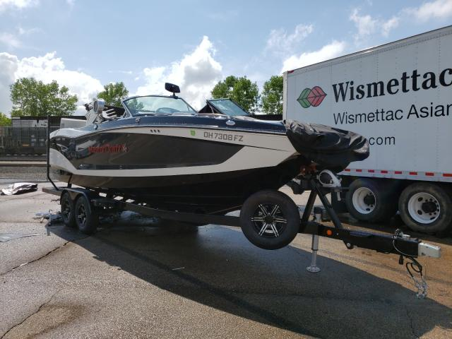 Salvage boats for sale at Moraine, OH auction: 2020 Mastercraft Boat