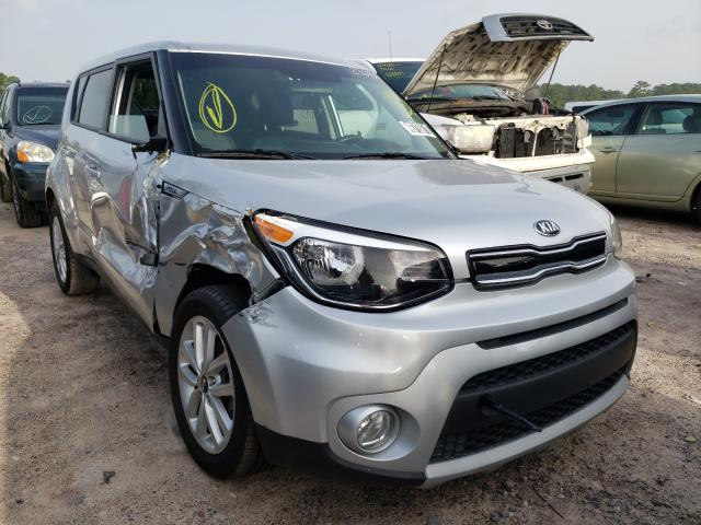 Salvage cars for sale from Copart Houston, TX: 2019 KIA Soul +