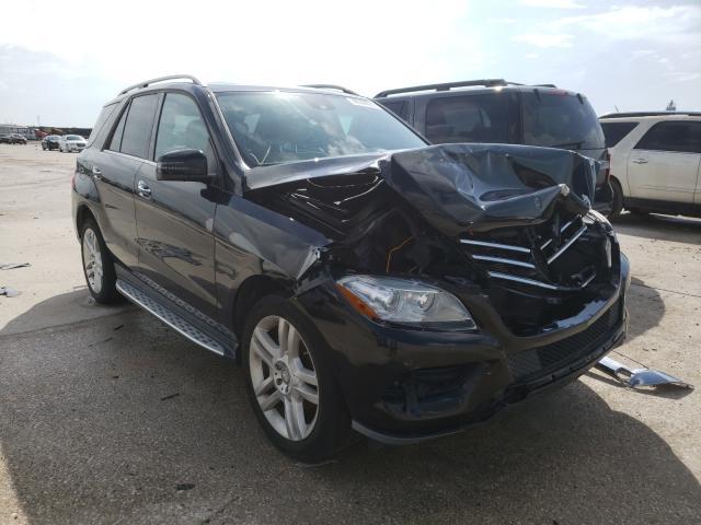 Vehiculos salvage en venta de Copart New Orleans, LA: 2014 Mercedes-Benz ML 350