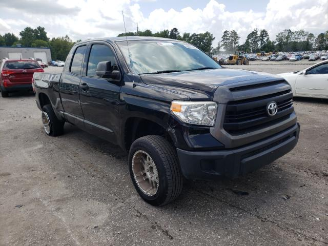 Salvage trucks for sale at Dunn, NC auction: 2014 Toyota Tundra DOU