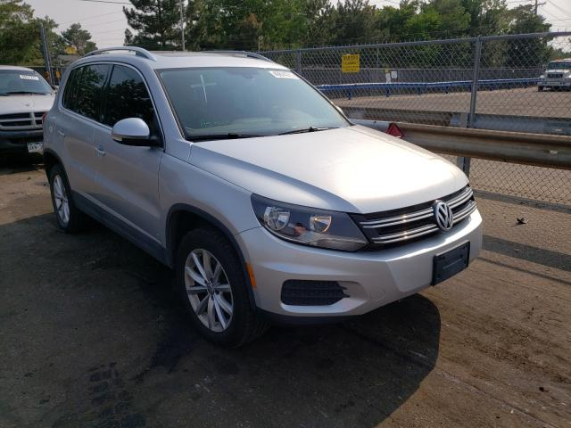 Salvage cars for sale from Copart Denver, CO: 2017 Volkswagen Tiguan WOL
