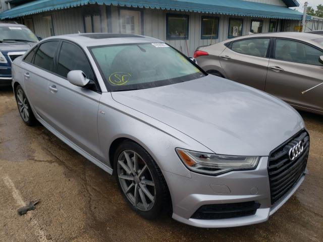 Salvage cars for sale from Copart Pekin, IL: 2017 Audi A6 Premium