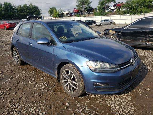 2016 Volkswagen Golf S/SE en venta en New Britain, CT