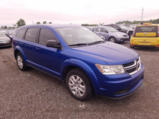 Salvage cars for sale from Copart London, ON: 2015 Dodge Journey SE