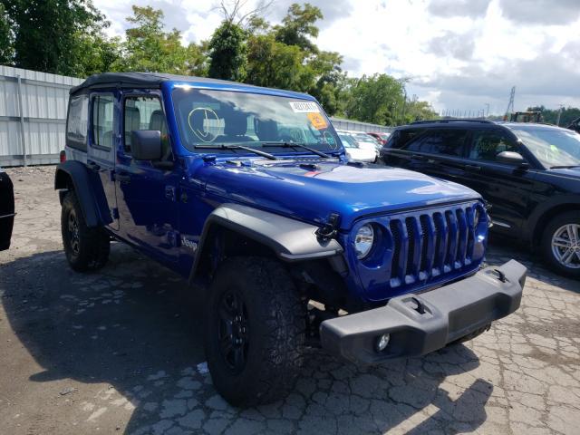 Vehiculos salvage en venta de Copart West Mifflin, PA: 2020 Jeep Wrangler U
