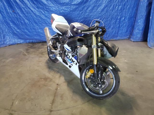 Salvage motorcycles for sale at Finksburg, MD auction: 2004 Suzuki GSX-R750 K