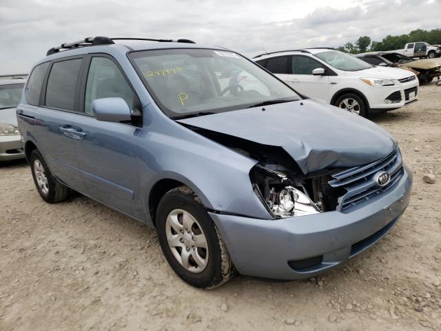 KIA Sedona salvage cars for sale: 2008 KIA Sedona
