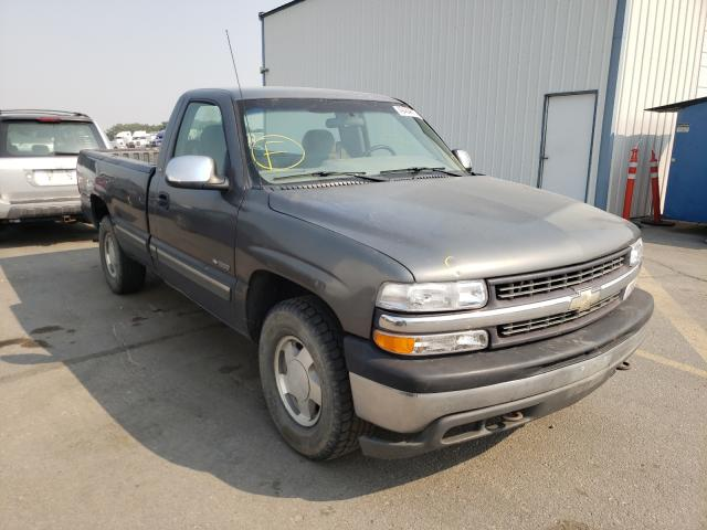 Salvage cars for sale from Copart Nampa, ID: 2000 Chevrolet Silverado