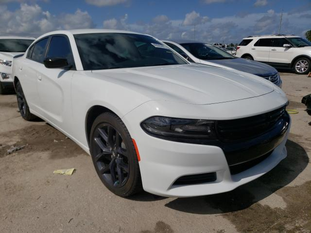 Salvage cars for sale from Copart Riverview, FL: 2020 Dodge Charger SX