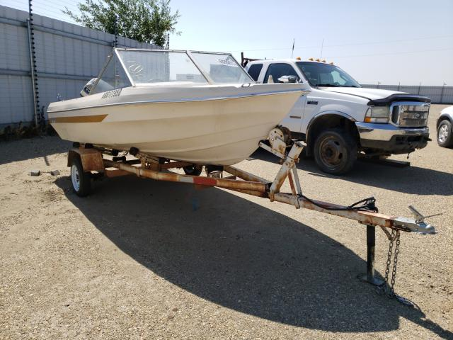 Salvage cars for sale from Copart Nisku, AB: 1975 Marl Boat With Trailer