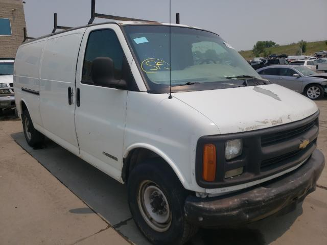 Salvage trucks for sale at Littleton, CO auction: 1997 Chevrolet Express G3
