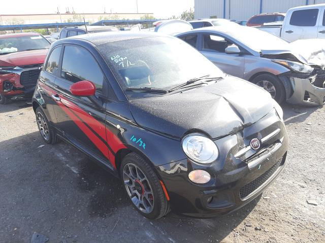 Fiat salvage cars for sale: 2013 Fiat 500 Sport