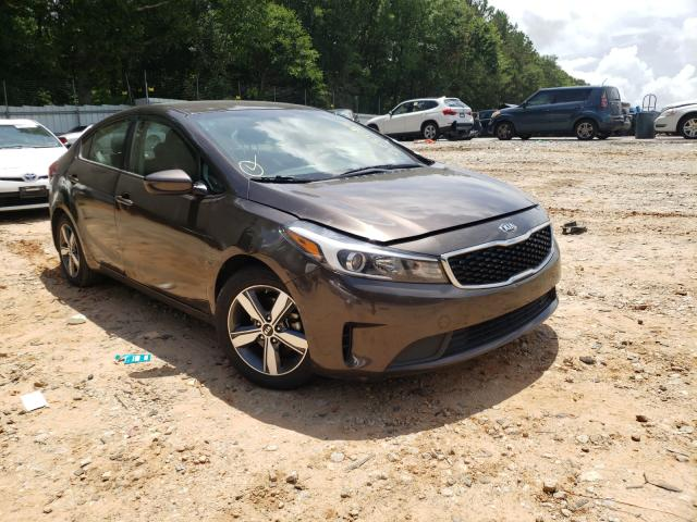 Salvage cars for sale from Copart Austell, GA: 2018 KIA Forte LX