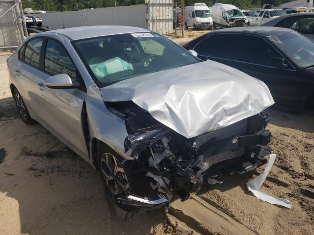 Salvage cars for sale from Copart Gaston, SC: 2021 KIA Forte FE