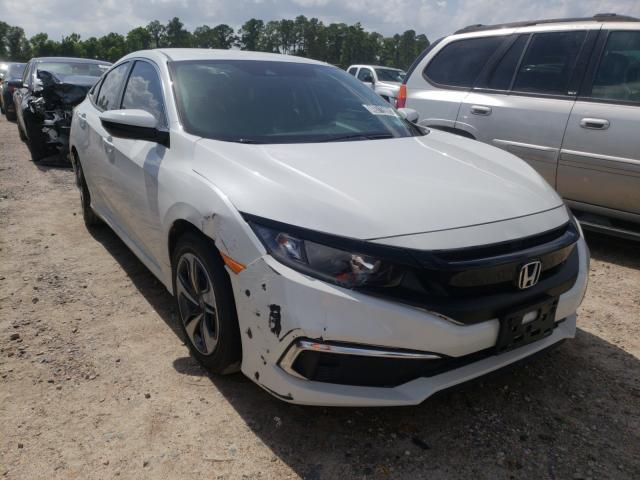 Salvage cars for sale from Copart Houston, TX: 2020 Honda Civic LX