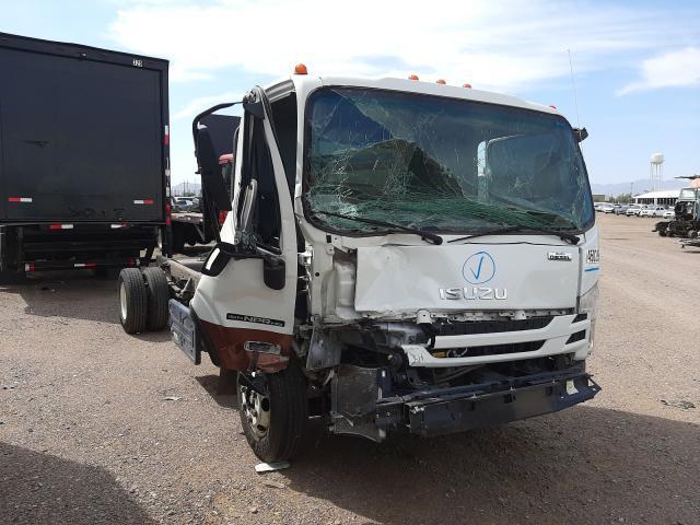 Salvage cars for sale from Copart Phoenix, AZ: 2019 Isuzu NPR HD