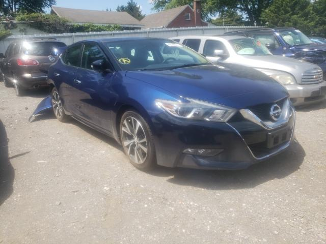 Salvage cars for sale at Finksburg, MD auction: 2017 Nissan Maxima 3.5