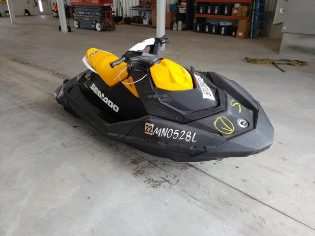 Salvage cars for sale from Copart Avon, MN: 2020 Seadoo Spark