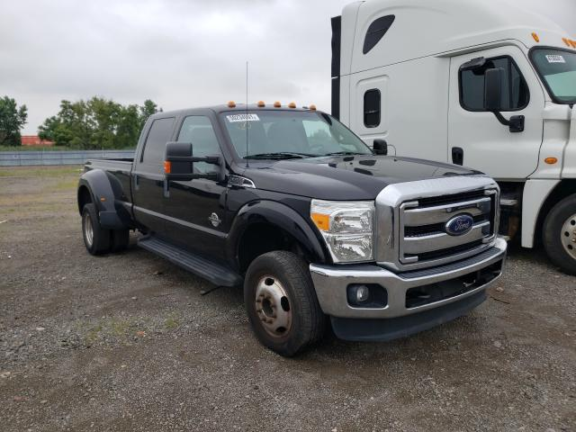 Salvage cars for sale from Copart Dyer, IN: 2016 Ford F350 Super