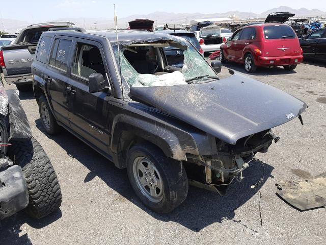 Salvage cars for sale at Las Vegas, NV auction: 2015 Jeep Patriot SP