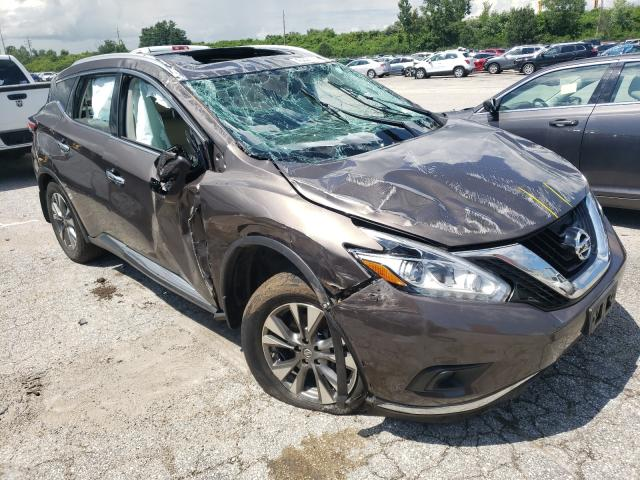 Salvage cars for sale from Copart Bridgeton, MO: 2015 Nissan Murano