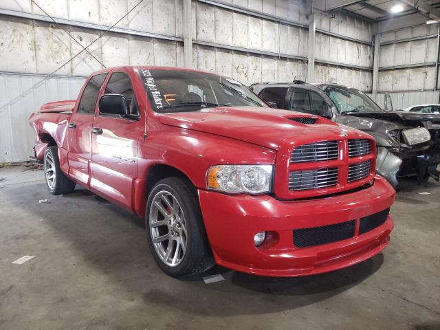 Dodge RAM SRT10 salvage cars for sale: 2005 Dodge RAM SRT10