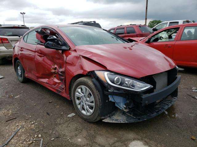 Salvage cars for sale at Indianapolis, IN auction: 2017 Hyundai Elantra SE