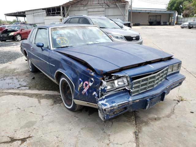 Salvage cars for sale from Copart Corpus Christi, TX: 1981 Chevrolet Monte Carl