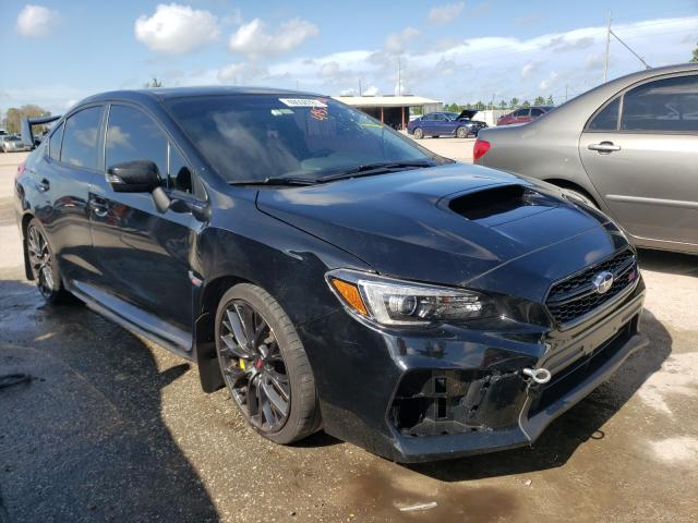Salvage cars for sale from Copart Riverview, FL: 2019 Subaru WRX STI
